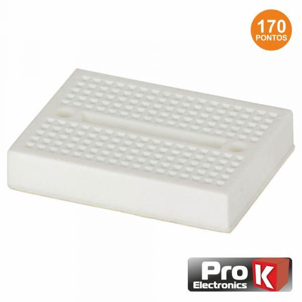 Prok Electronics Placa de Ensaio Multifunções com 170 Pontos - PKBB170A