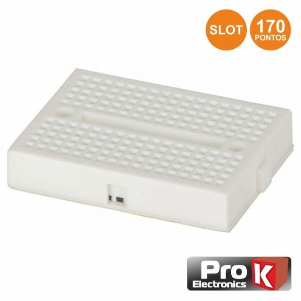 Prok Electronics Placa de Ensaio Multifunções com 170 Pontos com Slot - PKBB170