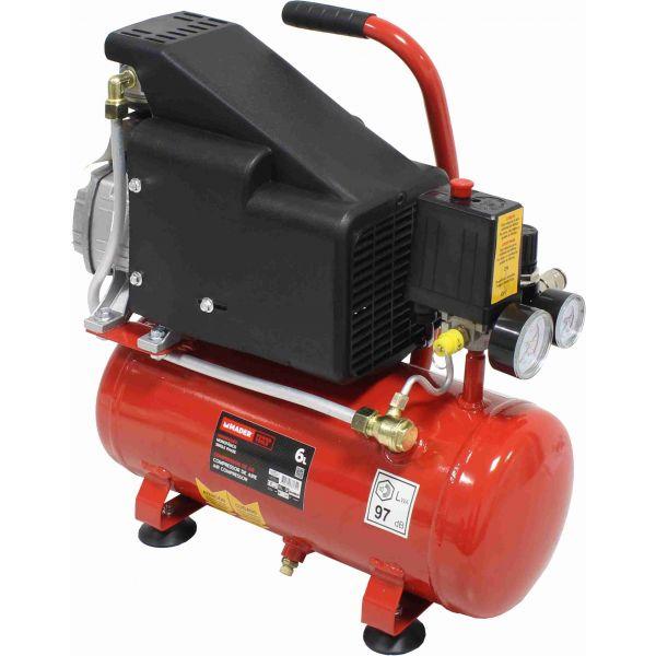 Mader Compressor de Ar 6L - 1.5 Hp - 37134