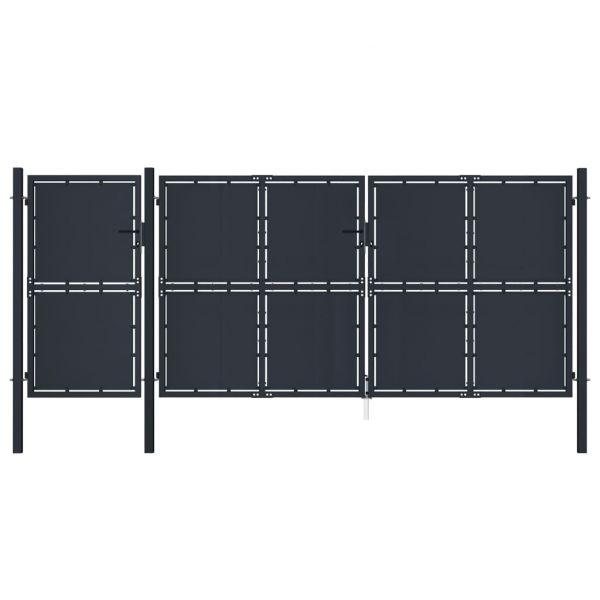 Portão de Jardim 4x2 M Metal Antracite - 144550