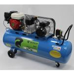 Saurium Compressor de Ar a Gasolina + Elétrico 200L 5.5HP