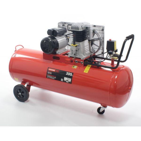 Mader Compressor de Ar Monofásico 200L