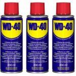 WD-40, Pack de 3 unidades de Lubricante Multiusos 200ml