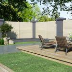vidaXL Painel de Vedação para Jardim 1,7x1,7 m - 49011