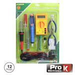 Prok Electronics Kit Ferramentas de Soldadura com 12 Peças