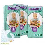 Bambo Nature Fraldas Maxi 7-18Kg 3x60 Unidades