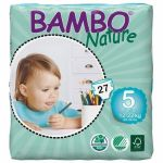 Bambo Nature Fraldas Junior 12-22kg x27