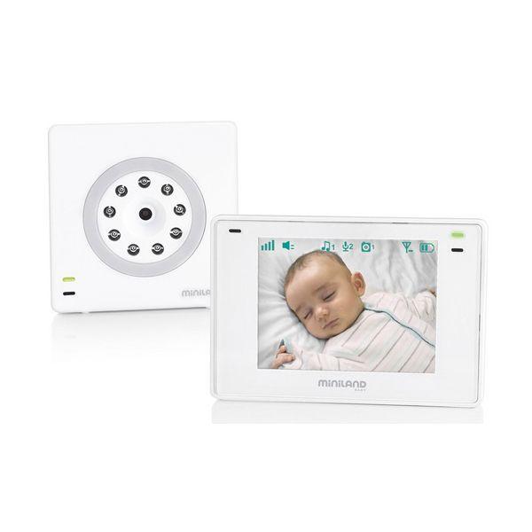 Miniland Baby Intercomunicador Video Digimonitor 3.5 Plus - 89174
