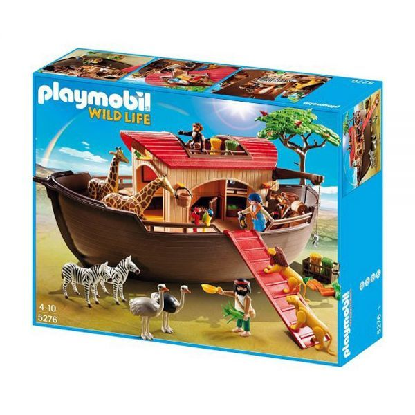 Playmobil wild life arca de no 5276 comparador de for Arca de noe playmobil