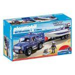 Playmobil City Action - Carro e Lancha de Polícia - 5187