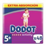Dodot Fraldas Activity Extra T5 15-20Kg x44
