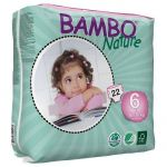 Fraldas Bambo Nature XL Plus 16-30Kg 22 un.