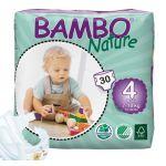 Bambo Nature Fraldas Maxi T4 7-18Kg x30