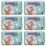 Bambo Nature Fraldas Newborn 2-4Kg 6x 28