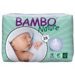 Bambo Nature Fraldas Newborn 2-4Kg x28