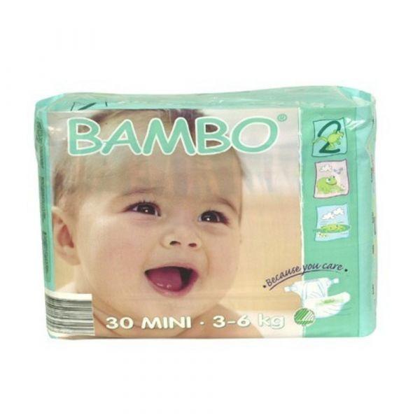 Bambo Nature Fraldas Mini 3-6Kg x30