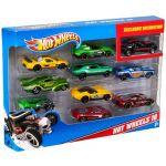 Mattel Hot Wheels - Pack de 10 Carros