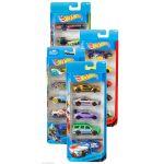 Mattel Hot Wheels - Pack de 5 Carros Ferrari