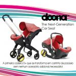 Doona Cadeira Auto 2 em 1 Love 0+ Red