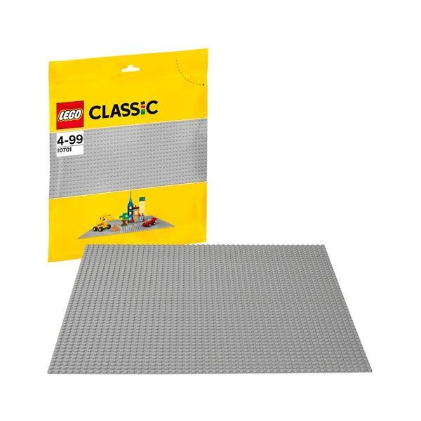 LEGO Classic - Base de Construção Cinzenta - 10701