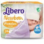 Libero Newborn Premature até 2,5Kg 24 Fraldas