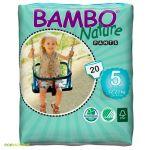Cuecas de Treino Bambo Nature Pants Nº5 20 un.