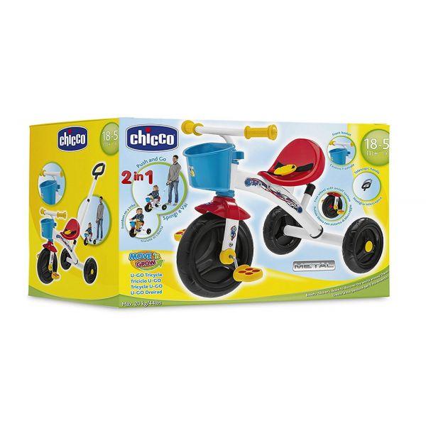 Chicco Triciclo U-Go Red