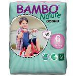 Cuecas de Treino Bambo Nature Pants Nº6 18 un.