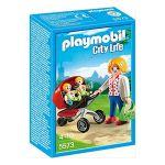 Playmobil City Life - Mãe com Carrinho de Gémeos - 5573