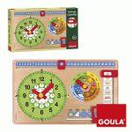 Goula Relógio e Calendário - 51321
