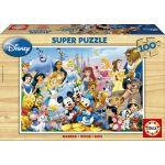 Educa Puzzle 100 Peças - O Maravilhoso Mundo Disney - 12002