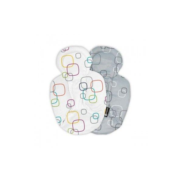 4Moms Redutor de Recém-nascido p/ MamaRoo e RockaRoo Plush Multicolor
