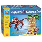 Concentra Jogo Mesa Macacos Acrobatas