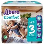 Libero Fraldas Comfort Fit T3 4-9Kg 30 un.
