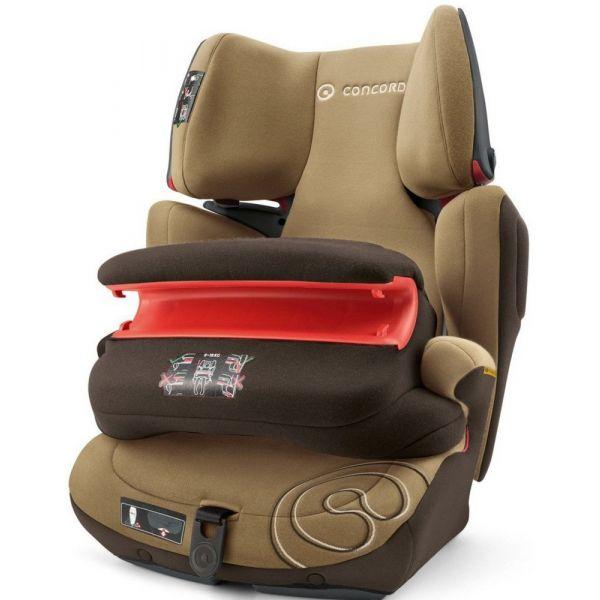 Concord Cadeira Auto Transformer Pro Isofix 1-2-3 Walnut Brown