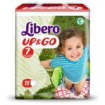 Libero Up & Go Fraldas Tamanho 7 8x18 un.