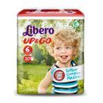 Libero Up & Go Fraldas Tamanho 6 8x20 un.