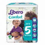 Libero Comfort Fit Tamanho 5 Pack Fraldas 10-14kg 8x24 un.