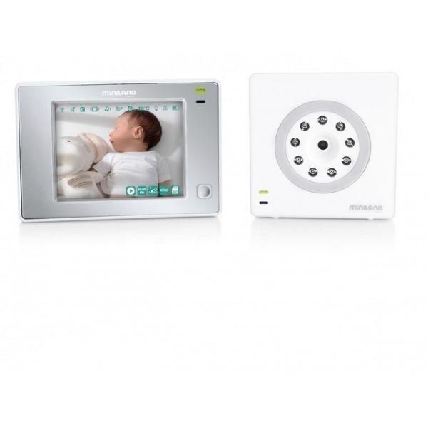 Miniland Baby Intercomunicador Video Digimonitor 3.5 Touch - 89175