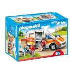 Playmobil City Life - Ambulância com Luz e Som - 6685