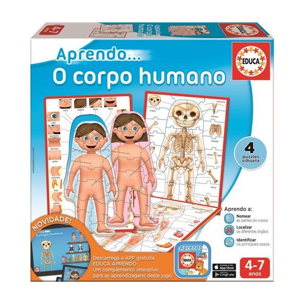 Educa Jogo Educativo Aprendo o Corpo Humano - 16594
