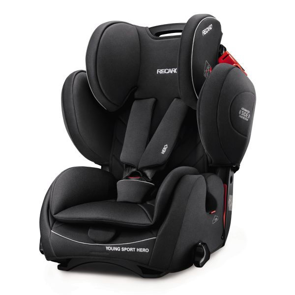 Recaro Cadeira Auto Young Sport Hero 1-2-3 Performance Black