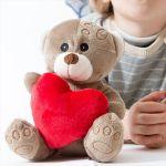 Urso de Peluche com Coração - H2000153