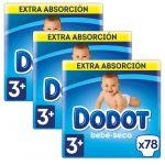 Dodot Fraldas Absorção Extra T3 4-10Kg x234