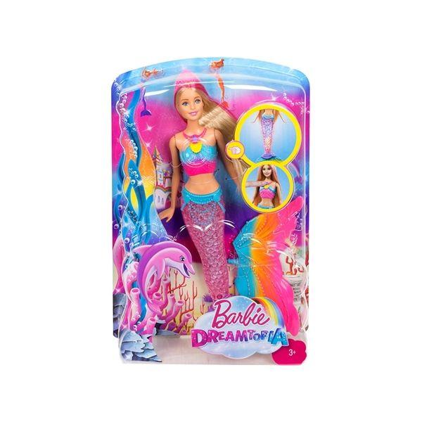 Mattel Barbie Dreamtopia Sereia das Cores - DHC40