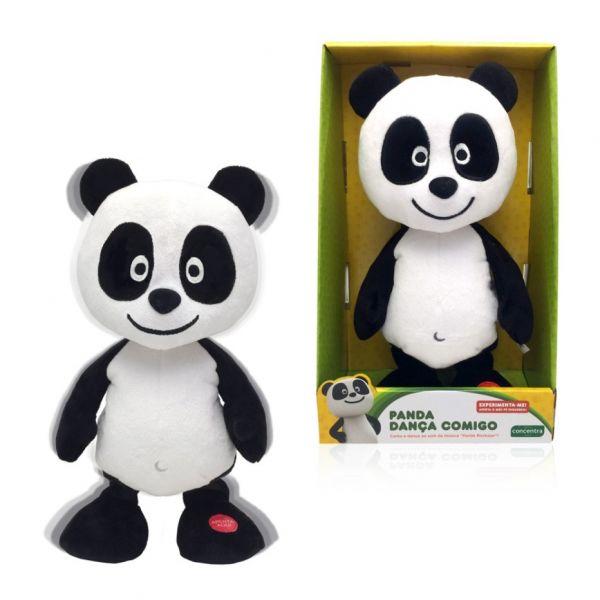 Panda Peluche Dança Comigo