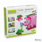 Andreu Toys Puzzles Animais da Quinta - 16461