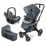 Conjunto Trio Concord Neo Mobility Set Steel Grey