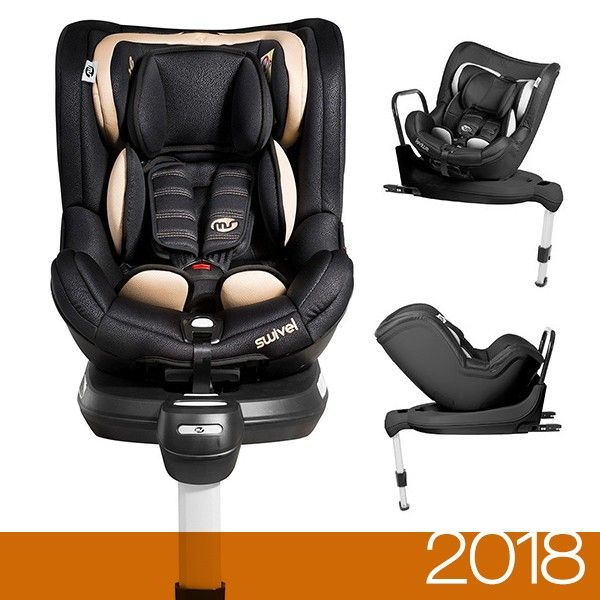 Innovaciones MS Cadeira Auto Swivel 360 Rotative Isofix 1 Beige