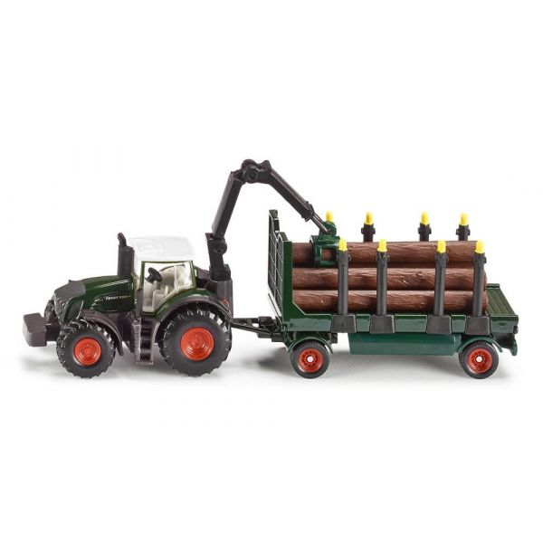 Siku Tractor com Reboque Florestal - 1861